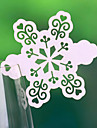 Place Cards and Holders Snow Shaped Place Card For Wine Glass Card (Set of 12)
