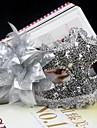 Mask Prinsessa Festival/Högtid Halloween Kostymer Silver / Vit / svart / Rosa Enfärgat / Spets Mask Halloween / Karnival / Nyår Unisex PVC