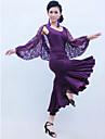 Accesorios(Morado,Encaje / Viscosa,Danza Latina / Sala de Baile) -Danza Latina / Sala de Baile- paraMujer Arrugas EntrenamientoPrimavera,