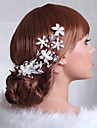 Women\'s Alloy Headpiece-Wedding / Special Occasion Hair Combs As the Picture