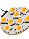 1.5W G4 LED a Double Broches 9 SMD 5050 120 lm Blanc Chaud DC 12 V