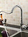 Sprinkle® by Lightinthebox - Solid Brass Pull Down Kitchen Faucet - Chrome Finish