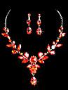 Set bijuterii Pentru femei Zi de Naștere / Cadou / Petrecere / Ocazie specială Set Bijuterii Aliaj Ștras / Zirconiu CubicColiere /