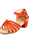 Mode Kinderbekleidung Obermaterial Satin Latin Dance Schuhe (weitere Farben)