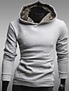 män hoodie fleecefodrad avslappnade sweatshirt