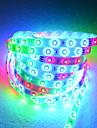 Bande LED 5m de 54 perles de lampe avec controle a distance et l\'adaptateur