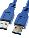 USB 3.0 Male to Male Super Speed Cable(1M)