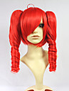 Cosplay Wigs Vocaloid Kasane Teto Red Short Anime/ Video Games Cosplay Wigs 40 CM Heat Resistant Fiber Female