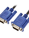15 PIN SVGA VGA bildskärm M / M kabel sladden för PC TV (1,5 M)
