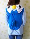Kigurumi Pyjamas Pingvin Trikå/Onesie Festival/högtid Pyjamas med djur halloween Vit Blå Lappverk Polär Ull Kigurumi För Unisex Halloween