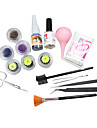 Faux Cils Noir Extension Glue Remover Pince Kit Set individuel