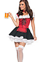 Octoberfest Beer fille Lace-up uniforme de menage