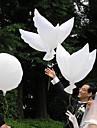 Wedding Décor White Peace Dove Balloon - Set of 6