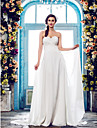 Lanting Bride® A-line Petite / Plus Sizes Wedding Dress - Classic & Timeless / Elegant & Luxurious Fall 2013 / Spring 2014Sweep / Brush