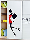 Människor Pretty Girl Wall Stickers