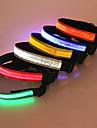 Chien Colliers Lampe LED / Securite Rouge / Blanc / Vert / Bleu / Incanardin / Jaune / Orange Nylon / Plastique