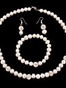 Jewelry Set Women\'s Anniversary / Wedding / Birthday / Gift / Party / Special Occasion Jewelry Sets Pearl / RhinestoneNecklaces /