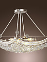 Max 40W Pendant Light ,  Modern/Contemporary Electroplated Feature for Crystal Metal Living Room / Bedroom / Dining Room