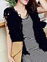 Folli mode coreenne Leeveless Knit Vest