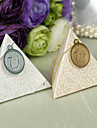 12 Piece/Set Favor Holder - Pyramid Card Paper/Pearl Paper Favor Boxes Non-personalised