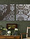 Impressao em tela esticada Arte Floral Pattern Flor Conjunto de 2