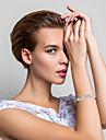 Elegant Alloy With Rhinestone Women\'s Bracelet (More Colors)
