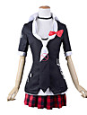 Dangan Ronpa Junko Enoshima Girl\'s High School Uniform Cosplay Costume (Version 2)