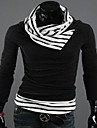MCFS Heap Collar Kontrast Färg Pull tröja