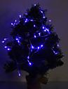 4M 3W 40 LED 210LM Bleu Lumiere de bande de LED pour des decorations de Noel