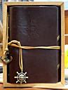 epocă piele 18x14cm model jurnal notă spirală notebook creative (culoare aleatorii)