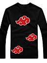 Naruto Akatsuki Long Sleeve T-shirt Men\'s Cosplay Costume