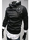 Zhelin Oblique fermoar Collar ingrosat Fleece Hoodie Coat