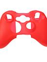 Couverture de caisse de peau de silicone pour XBOX 360 Game Controller (couleurs assorties)