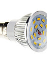 B22 LED Spot Lampen 15 SMD 5730 100-550 lm Warmes Weiss Dimmbar AC 220-240 V