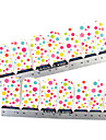 28PCS Full-tip Lovely Dot Pattern Nail Art Stickers Decals