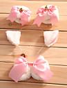 Accessoires de Lolita Doux Princesse Cosplay Vetrements Lolita Blanc Incanardin Noeud papillon Bracelet Noeud Coiffure Pour FemmeSatin
