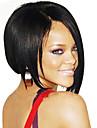 BOB Stort Hair Style bresilien humain droite perruque d\'avant de dentelle
