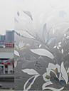 Elegant Bloomming Ice Flowers fönsterfilm