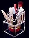 Rangement pour Maquillage Boite de maquillage / Rangement pour Maquillage Acrylique Couleur Pleine 13x9x9