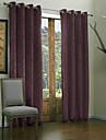 Deux Panneaux Le traitement de fenetre Moderne , Solide Salle de sejour Polyester Materiel Rideaux Tentures Decoration d\'interieur For