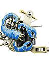 maquina de tatuagem empaistic - liga de aluminio frame escorpiao azul