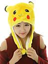 Kigurumi Pyjamas pika pika Hatt Halloween Animal Sovplagg Gul Tryck Pälsimitation / Polyester Kigurumi Unisex Halloween / Karnival