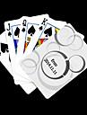 Personalizat cadou alb Dot model carte de joc pentru poker