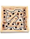 Barn Rocking och Rolling Balls Wooden Maze Game balans Pedagogiska leksaker