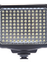 Luz video de LED-5009 LED + NP-F550 Bateria 120pcs LED Video / videocamara de la lampara