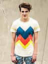 Gaine de mode T-shirt Td30742 Cream Viishow hommes