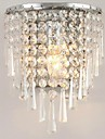 lightmyself® 3W LED moderna mode kristall vägglampor säng belysning kristall E14 vägglampa