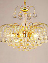 European-Style Luxury 3 Lights Chandelier With Crystal Balls