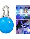 Chat / Chien Colliers / Lampe de Securite LED Etanche / Lampe LED Blanc / Bleu Plastique