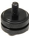 Tålig Black 1/4 cirkel Hot Shoe för Fotografiskt kamera